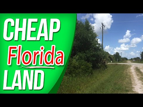 Cheap Florida Land - Viking Estates  - Okeechobee Florida