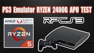 Ryzen 2400G PS3 Emulator Test RPCS3