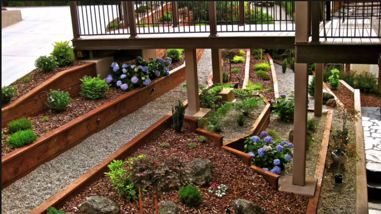 What To Do With That Back Yard Slope - YouTube on Backyard With Slope Ideas  id=43945