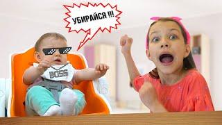Viki Show - Моя Сестрёнка Амелия УПРАВЛЯЕТ МОИ ДНЁМ / Вики Шоу - VIDEOOO
