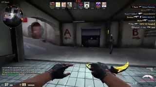 Gameplay in CS-GO: Kerambit ( Tiger Tooth )