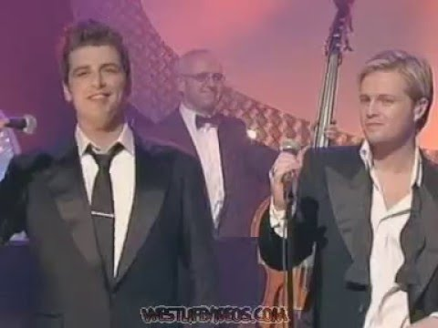 WESTLIFE - FLY ME TO THE MOON (JOHN DALY SHOW 01.11.04)