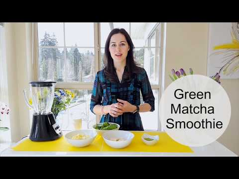 Green Matcha Smoothie: Perfect for Detox and Weight Loss