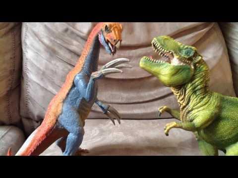 Therizinosaurus vs Tyrannosaurus rex