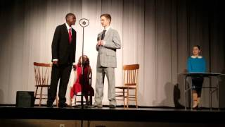 Video Carter Reed performs as Burton Healy in Annie Jr. March 2016 download MP3, 3GP, MP4, WEBM, AVI, FLV Desember 2017