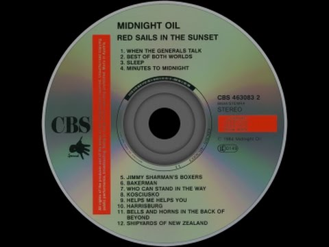 Midnight Oil  'Red Sails in the Sunset' (Full CD Uploaded in 1080p HD)