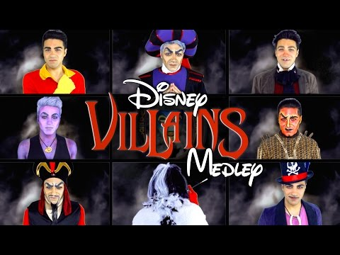 DISNEY VILLAINS MEDLEY | Daniel Coz