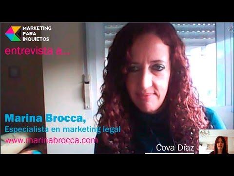 Entrevista a Marina Brocca: como cumplir con la LOPD en un blog