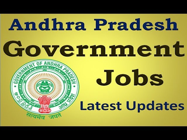 Govt jobs in AP 2017 || This  November Updates || Last Dates of Applications ||