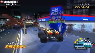 Monster Jam Urban Assault / 4x4 Truck Racing / Nintndo Wii Games / Gameplay