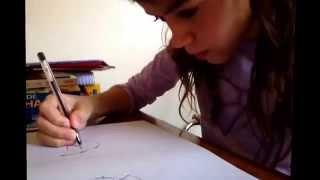 Como desenhar coração de fogo (gatos guerreiros)