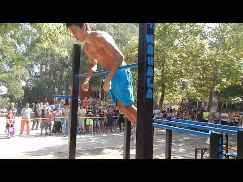Gordan Krstic SW Freestyle competition Bor,Serbia 2015 (1st place, U18)