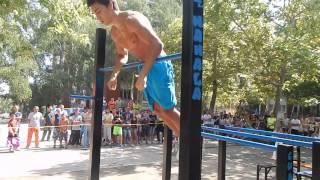 Gordan Krstic SW Freestyle competition Bor,Serbia 2015 (1st place, U18)