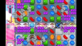 Candy Crush Saga Level 1665 (No booster, 3 Stars)