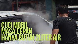 Cuci Mobil Masa depan hanya butuh 3liter air