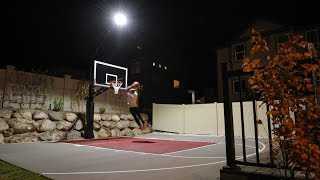 Mega Slam Hoops® Review - Game Light® for your basketball system