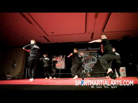 Team AKA - 2013 Diamond Nationals Finals - Opening Demo