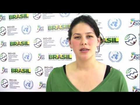 Environmental Activist Severn Cullis Suzuki at the Rio+20 UN Conference on Sustainable Development