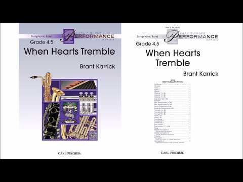 When Hearts Tremble (SPS75) by Brent Karrick
