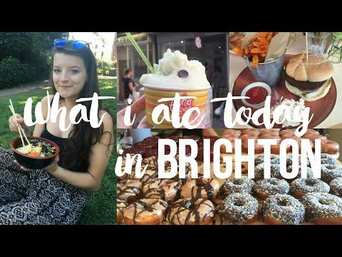 SO MUCH FOOD!! // Eating Vegan in Brighton