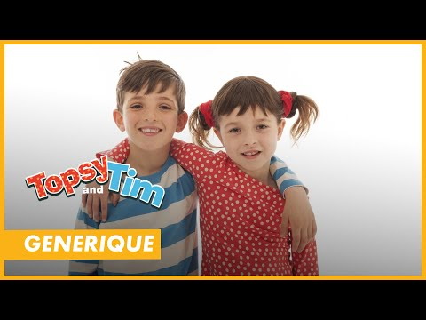 la chanson du g n rique de topsy et tim ton dessin anim. Black Bedroom Furniture Sets. Home Design Ideas