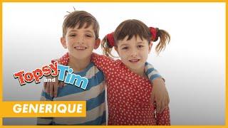 La chanson du générique de Topsy et Tim, ton dessin animé sur Piwi+