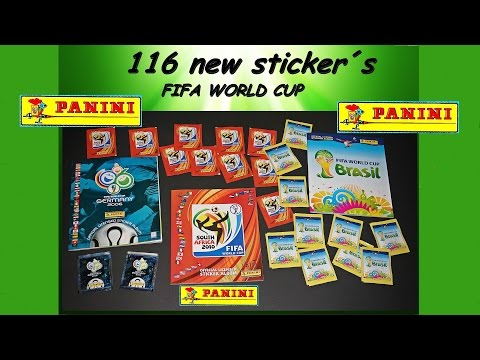 PANINI 116 Sticker FIFA WORLD CUP Germany 2006 South Africa 2010 Brasil 2014 PANINIALBUM