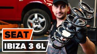 Cómo cambiar los muelles de suspensión traseros en SEAT IBIZA 3 6L [VÍDEO TUTORIAL DE AUTODOC]