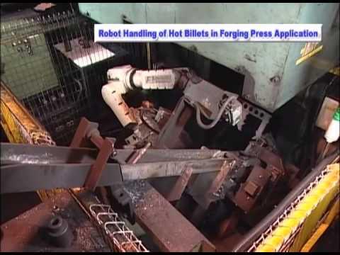 Handling Hot Billets - Kawasaki Robotics