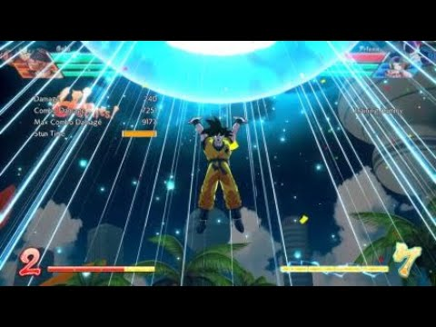 Sexy Lil Base Goku Combo