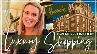 HARRODS LUXURY GROCERY SHOP   Inside Harrods London Food Hall screenshot 2
