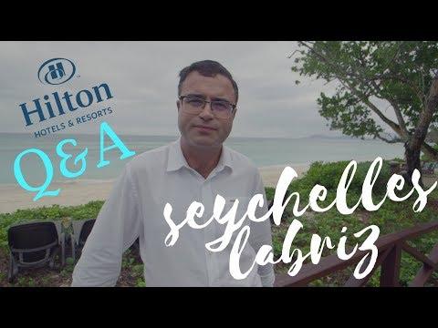 Hilton Seychelles Labriz Resort & Spa - Q&A Interview with t