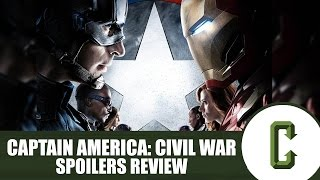 Captain America: Civil War Spoilers Review