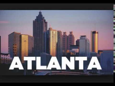 Atlanta, Georgia, USA, transportation hub , commerce, finance, research, technology, education,