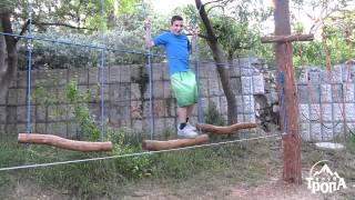 Веревочный Парк - Гаспра(Проектирование и строительство веревочных парков в Днепропетровске. http://www.tropa.dp.ua/extreme/weekend/park.html., 2013-03-29T13:40:09.000Z)