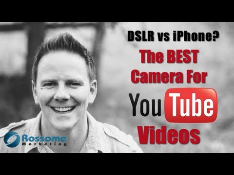 DSLR Video vs iPhone Video: The Best Camera For YouTube Videos