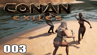CONAN EXILES [003] [NPC Lager ausrauben] [Multiplayer] [Deutsch German] thumbnail