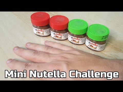 Mini Nutella Challenge