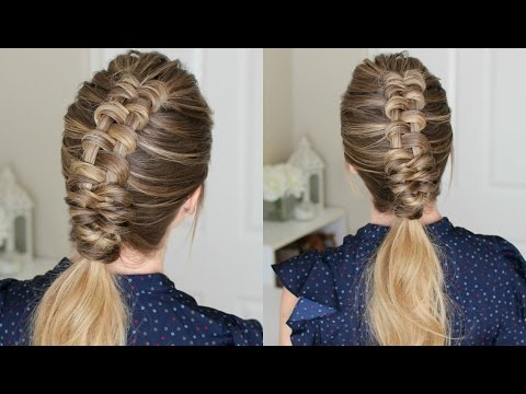 How to Dutch Infinity Braid for Beginners | Missy Sue