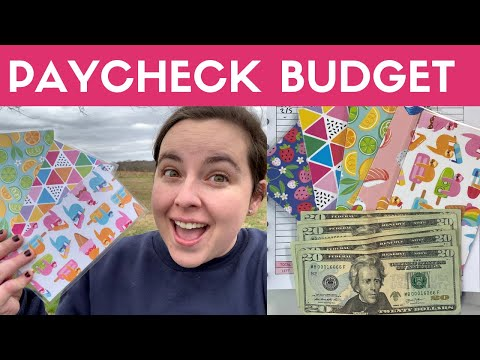 Paycheck Budget + New Sinking Funds + Cash Envelopes