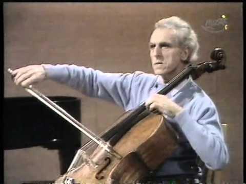 Master Class  Elgar Cello Concerto  P. Tortelier (1974)