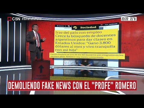 Otra fake news de Clarín: docentes argentinos en EEUU