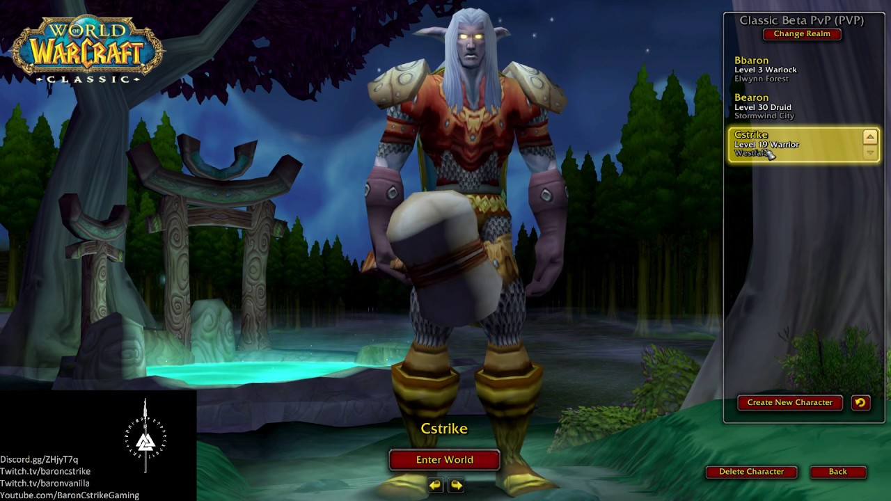 WoW Classic Lakeshire PvE Gold, Level 30-60 Accounts, Boosts
