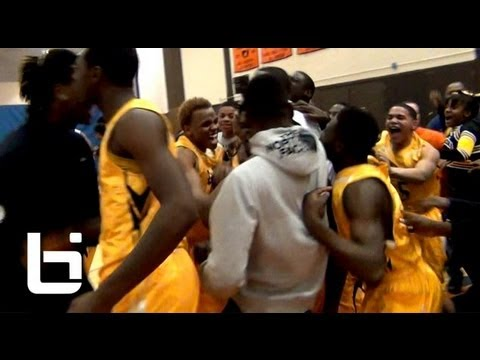 Jamal Mcdowell's buzzerbeating fadeaway 3 stuns 2 Whitney Young HS to win Chicago Title Orr HS
