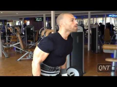 Gregory Brahim Paul training biceps