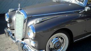 This is how you start a 1958 Mercedes 300D