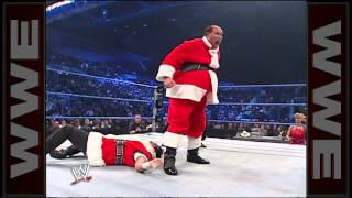 """Santa"" Festus vs. ""Santa"" Deuce: SmackDown, Dec. 21, 2007"