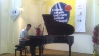CONCORSO EUROPEO JACOPO NAPOLI EDIZIONE 2013