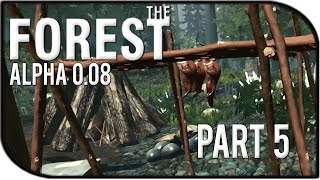 The Forest Gameplay Part 5 – Drying Rack! (0.08)