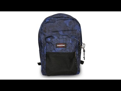 5606716db43 Zaino Eastpak Pinnacle PANTHER CRAZE Colore Azzurro Blu Nero Grigio Pantera  Pantere - YouTube